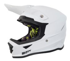 SHOT Furious MX Helmet - SOLID White Gloss